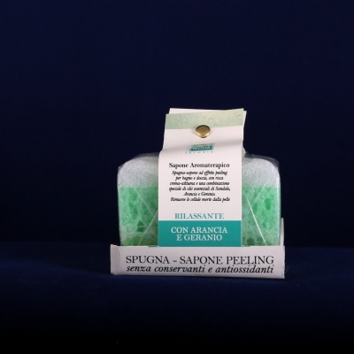 Soap with Relaxing Sponge (80g)
