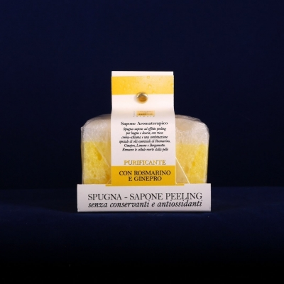 Soap with Purifying Sponge (80g)
